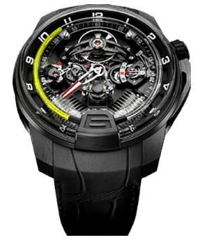 HYT 248-DL-00-GF-RA H2 Black DLC titanium Replica watch