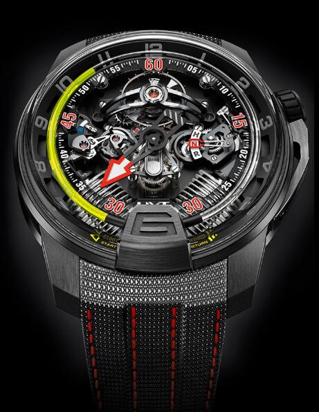 HYT 248-DL-01-GF-KG H2 AVIATOR Replica watch