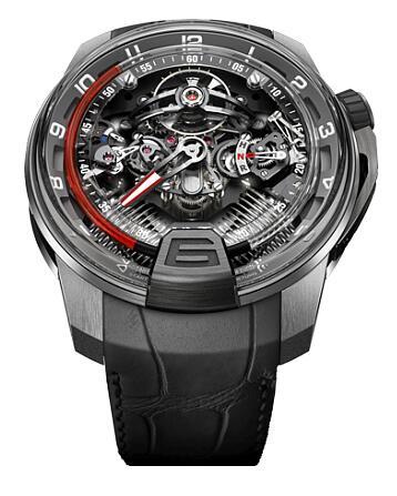 HYT 248-TP-00-RF-AB H2 TITANIUM PLATINIUM SQ Replica watch