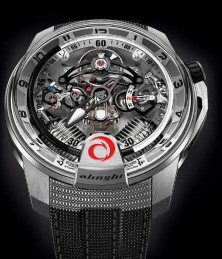 HYT 248-TT-02-NF-BN H2 ALINGHI Replica watch