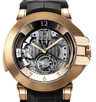 Harry Winston Haute Horology Westminster Tourbillon 400/MMTWR45RL Replica Watch