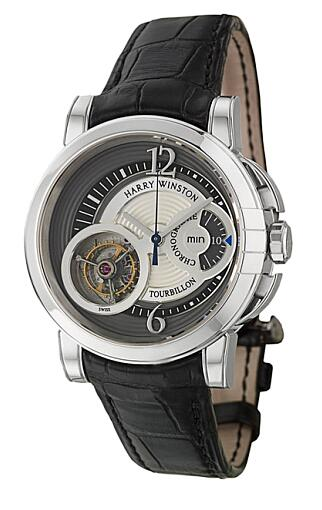 Harry Winston Haute Horology Midnight Tourbillon 450/MMTC42WL.K Replica Watch