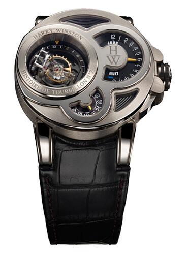 Harry Winston Haute Horology Histoire de Tourbillon 2 500/MMT48WL.K Replica Watch