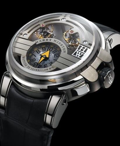 Harry Winston Haute Horology Histoire de Tourbillon 1 500/MMT48WZL Replica Watch