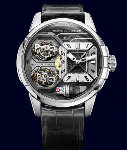 Harry Winston Histoire de Tourbillon 7 HCOMDT51WW001 Replica Watch
