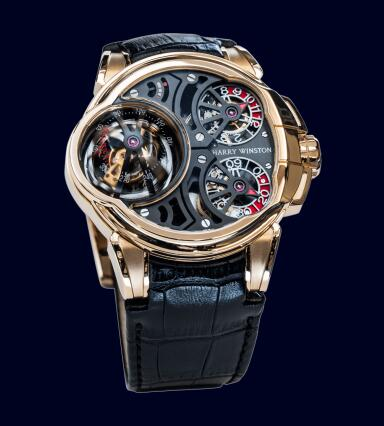 Harry Winston Histoire de Tourbillon 5 HCOMTT47RR001 Replica Watch