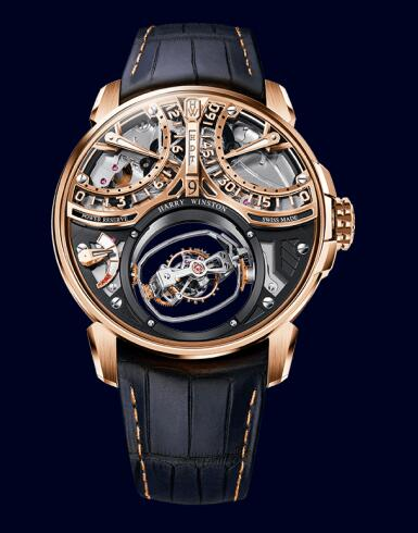Harry Winston Histoire de Tourbillon 9 HCOMTT47RR002 Replica Watch