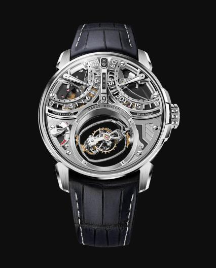 Harry Winston Histoire de Tourbillon 9 HCOMTT47WW001 Replica Watch