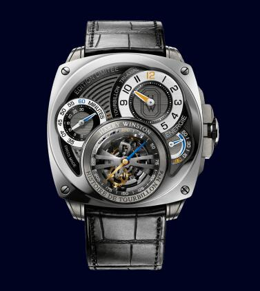 Harry Winston Histoire de Tourbillon 4 HCOMTT47WZ001 Replica Watch