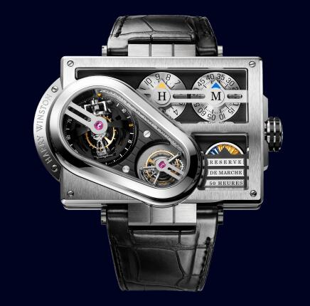 Harry Winston Histoire de Tourbillon 3 HCOMTT65WZ001 Replica Watch
