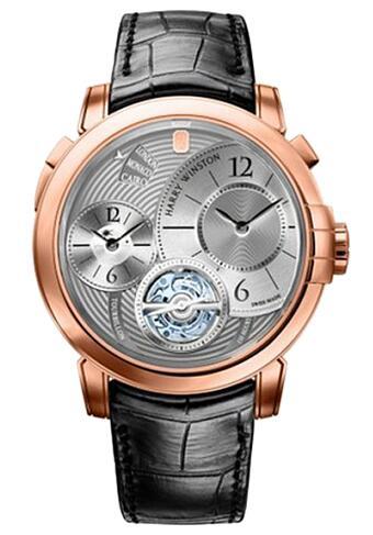 Harry Winston Midnight Midnight GMT Tourbillon 450/MATTZ45R Replica Watch