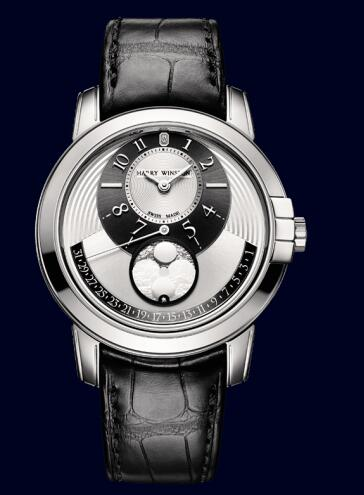 Harry Winston Midnight Moon Phase Automatic 42mm MIDAMP42WW001 Replica Watch