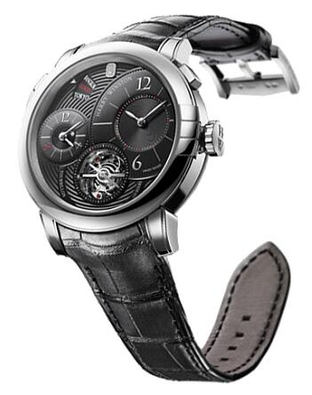 Harry Winston Midnight GMT Tourbillon WG MIDATG45WW001 Replica Watch