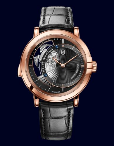 Harry Winston Midnight Minute Repeater MIDMMR42RR003 Replica Watch