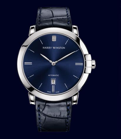 Harry Winston Midnight Automatic 42mm MIDAHD42WW002 Replica Watch