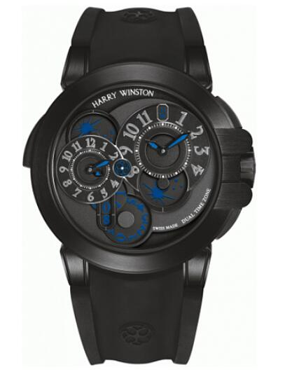 Harry Winston Ocean Dual Time 400/MATZ44ZKC.K2 Replica Watch