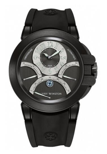 Harry Winston Ocean Triple Retrograde Chronograph 400/MCRA44ZKC.A1 Replica Watch