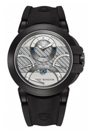 Harry Winston Ocean Triple Retrograde Chronograph 400/MCRA44ZKC.W1 Replica Watch