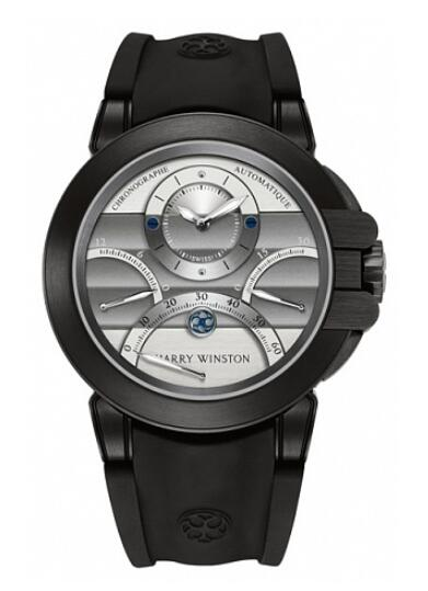 Harry Winston Ocean Triple Retrograde Chronograph 400/MCRA44ZKC.W2 Replica Watch