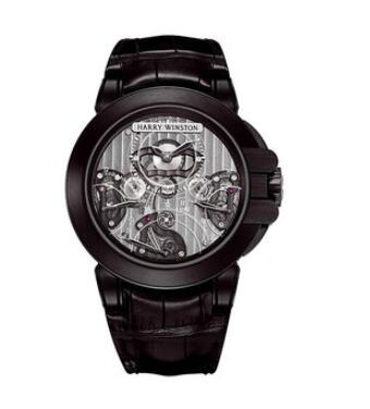 Harry Winston Ocean Triple Retrograde Chronograph 400/MCRA44ZKL.S Replica Watch