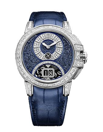 Harry Winston Ocean Sparkling Big Date Automatic 42mm OCEABD42WW003 Replica Watch