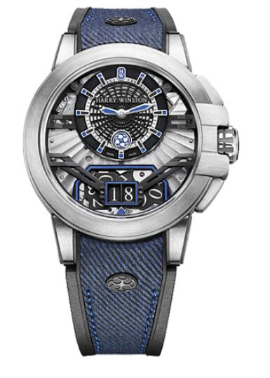 Harry Winston Ocean Project Z11 OCEABD42ZZ001 Replica Watch