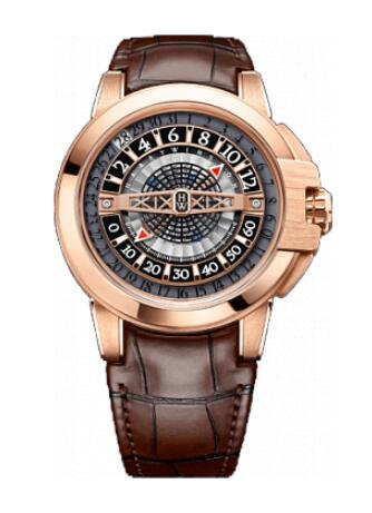 Harry Winston Ocean Retrograde Automatic 42mm OCEAHR42RR001 Replica Watch