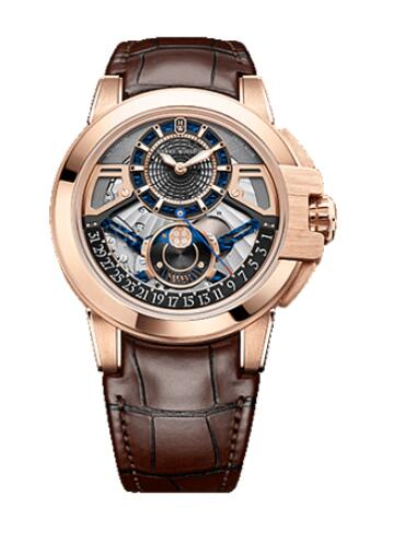 Best Harry Winston Ocean Moon Phase Automatic 42mm OCEAMP42RR001 Replica Watch