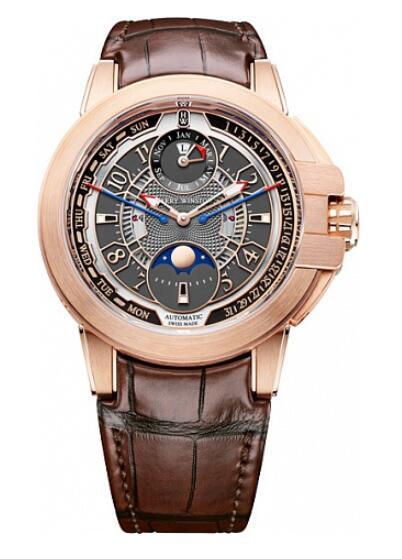 Harry Winston Ocean Biretrograde Perpetual Calendar OCEAPC42RR001 Replica Watch