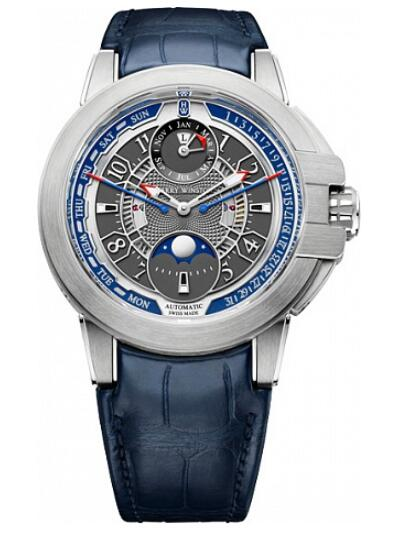 Harry Winston Ocean Biretrograde Perpetual Calendar OCEAPC42WW001 Replica Watch