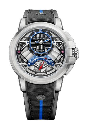 Best Harry Winston Ocean Project Z14 OCEARS42ZZ001 Replica Watch