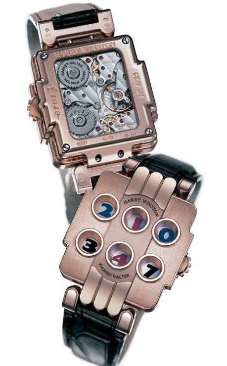 Harry Winston Opus 3 OPUMHD36RR001 Replica Watch