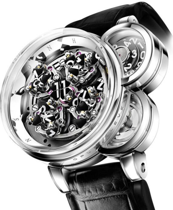 Harry Winston Opus Eleven OPUMHM54WW001 Replica Watch