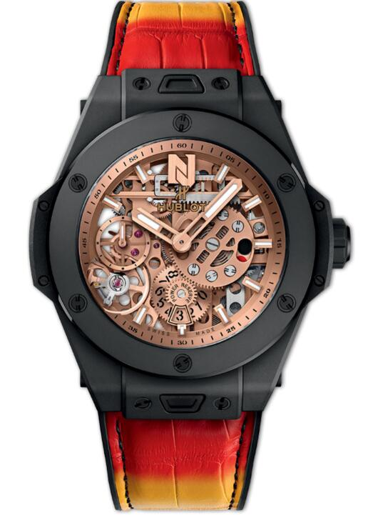 HUBLOT BIG BANG MECA-10 NICKY JAM CERAMIC 414.CI.4010.LR.NJA18 watch Replica