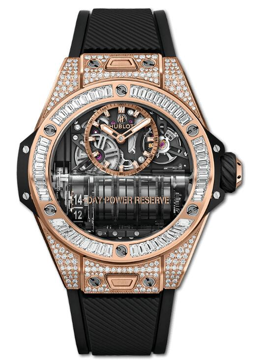 HUBLOT BIG BANG MP-11 POWER RESERVE 14 DAYS KING GOLD JEWELLERY 911.OX.0118.RX.0904 watch Replica