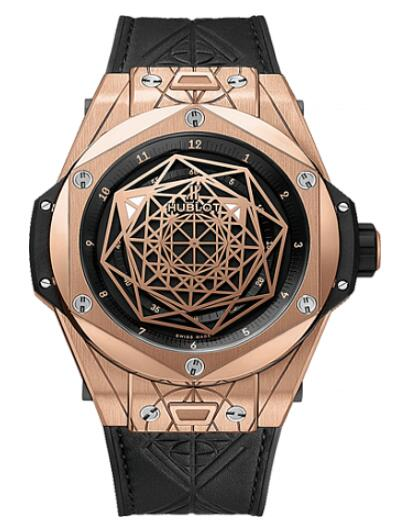 HUBLOT BIG BANG Sang Bleu King Gold 415.OX.1118.VR.MXM17 watch Replica