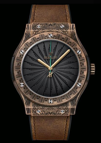 HUBLOT CLASSIC FUSION WILD CUSTOMS BRONZE 511.BZ.1110.VR.VR.PIC19 watch Replica