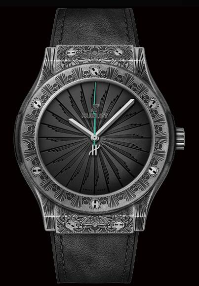 HUBLOT CLASSIC FUSION WILD CUSTOMS TITANIUM 511.NX.1110.VR.PIC19 watch Replica