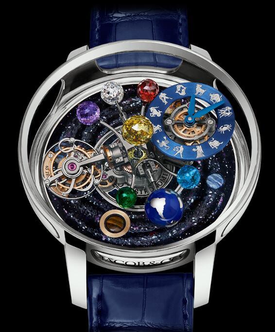 Buy Jacob & Co Astronomia Solar Planets & Zodiac AT150.60.AA.UA.ABALA Replica watch