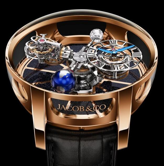 Jacob & Co ASTRONOMIA TOURBILLON ROSE GOLD AT100.40.AC.SD.A Replica watch