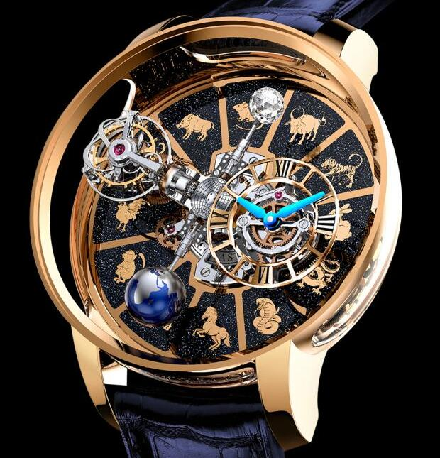 Jacob & Co ASTRONOMIA TOURBILLON CHINESE ZODIAC AT100.40.AC.AC.BBALA Replica watch