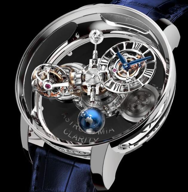 Jacob & Co ASTRONOMIA CLARITY WHITE GOLD AT120.30.AD.SD.A Replica watch