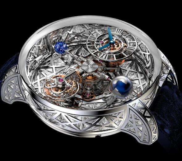Jacob & Co Astronomia Meteorite Triangle Diamonds AT800.30.HD.HD.A Replica watch