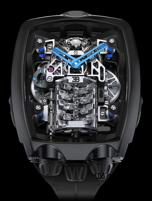 Buy Jacob & Co Bugatti Chiron Tourbillon BU200.20.AA.AC.A Replica watch