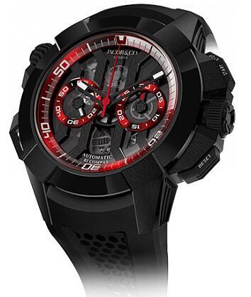 Jacob & Co EC311.21.SB.BR.A Epic X Chrono Black Titanium Replica watch