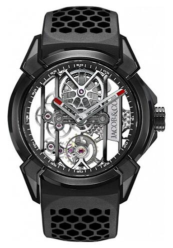 Jacob & Co EX100.21.PS.BW.A Epic X BLACK TITANIUM Replica watch