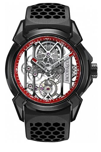Jacob & Co EX100.21.PS.RW.A Epic X BLACK TITANIUM Replica watch