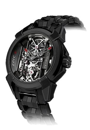 Jacob & Co EX100.21.PS.OP.A21AA Epic X Black Titanium Bracelet Replica watch