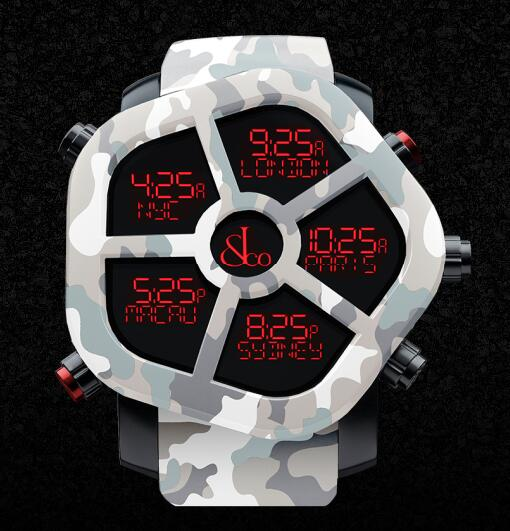 Jacob & Co GH100.11.NS.PC.ANS4D GHOST CARBON CAMOUFLAGE Men Replica watch