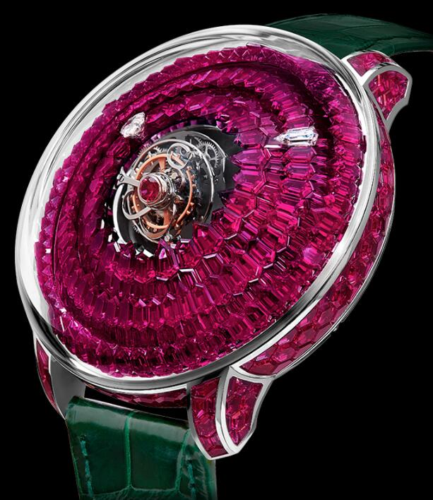 Jacob & Co The Mystery Tourbillon Ruby SN800.30.BR.UA.ABALA Replica watch